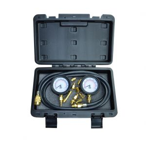 "2.5"" Twin Engine Oil Pressure Tester (Low & High Pressure)"