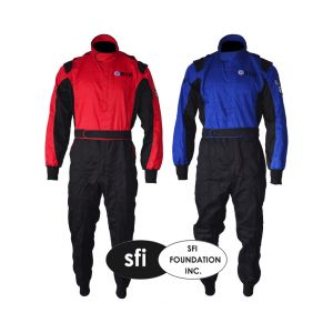 Single Layer Oval Start Race Suit - SFI 3-2A/1 Approved
