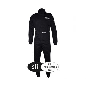 Single Layer Graphite Start Race Suit - SFI 3-2A/1 Approved